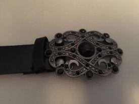 Ladies smart belts (brown one brand new and unused )