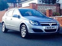 VAUXHALL ASTRA 1.6 CLUB 2006 LOW MILEAGE MOT JUST SERVICED CLEAN&TIDY 3 MONTHS WARRANTY