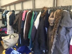 100 x winter jackets and coats