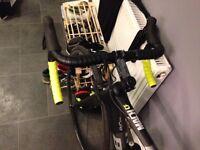 Btwin Mach 720 bike carbon frame size 53 XS.