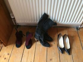 Designer shoes/boots for sale