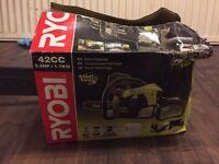 Brand new Ryobi POWR XT™ 42cc Chainsaw with 35cm Oregon Bar