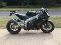 Aprilia RSV4R 2011 Black 5211 miles Great condition FSH