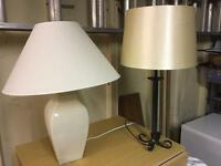 Two table lamps. Sold together