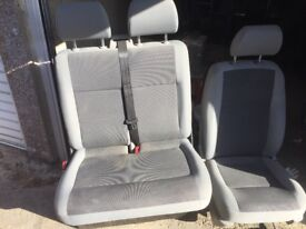T5 transporter front seats