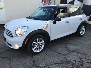 2012 MINI Cooper Countryman Manual, Leather, Panoramic Sunroof,