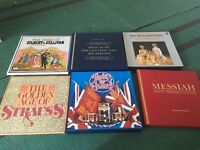Selection of classical vinyl records