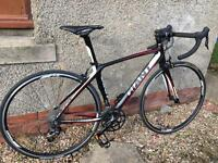 GIANT Defy 2, men's road bike, SRAM Apex, full carbon, size S.