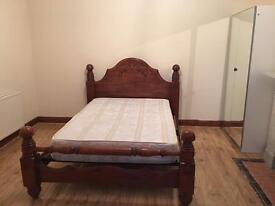 Call...07496926766 VERY LARGE CLEAN KING SIZE DOUBLE ROOM & VERY LARGE SINGLE ROOM TO LET LONDON
