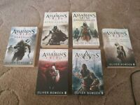 Unread- Assassin's Creed books by Oliver Bowden