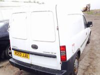 Wauxhall combo 1.7 diesel spare parts available bumper bonnet wing light radiator engine gearbox