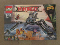 LEGO Ninjago Movie 70611 Water Strider New and Sealed