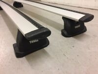 Thule 962 Wingbar Roof Bars with 753 Footpack