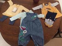 Baby girl 3-6 months Next Bundle