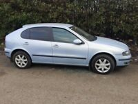 SEAT LEON 2004-05 1.6 PETROL LIGHT BLUE,PETROL MANUAL ''BREAKING'' PARTS FOR SALE