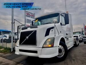 2009 Volvo VNL630 ** SMALL BUNK HEAVY SPECK **