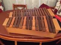 XYLOPHONE with stand - reasonable condition