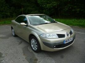 RENAULT MEGANE CONVERTIBLE .6 full mot. new clutch