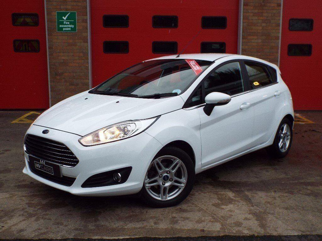 Ford Fiesta 1.5 TDCI ZETEC DIESEL 2013 63PLATE