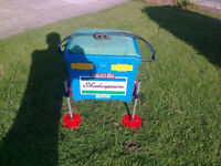 Fishing Box, Shakespeare, padded seat, adjustable legs etc, ex con, private sale, no text please.