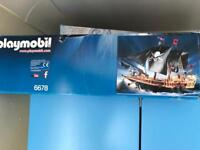 Play Mobil 6678 pirate ship UNOPENED