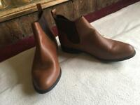 Ladies ankle boots size 6/39 used one time £5