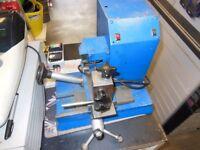 Mortice key cutting machine, key duplicating machine