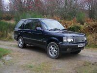 2001 P38 Range Rover.