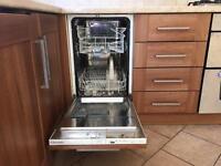 Integrated slimline dish washer