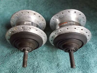 2 x shimano nexus 7 speed hubs