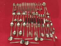 58 pieces of stainless steel cutlery