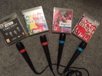 PS3 or PS4 sing star collection