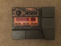 Zoom 708II bass Effects pedal