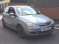 2004 VAUXHALL CORSA 1.2 DESIGN 3 DOOR * LONG MOT * FULL HISTORY * PX TO CLEAR * DELIVERY *