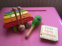 Kids Children's selection of wooden toys - £3 for all 3 in total