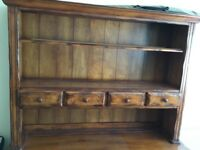 Beautiful solid wood dresser top with drawers great quality and condition.