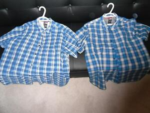 North Face Button Up/Short Sleeve Shirts (Large)