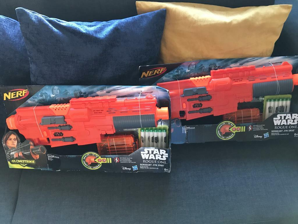 Two Star Wars Rogue One NERF GUNS Brand New in Box