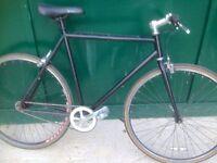 55cm Bicycle lightweight Single Speed & Fixed Gear Fixie Flip flop Road Bike