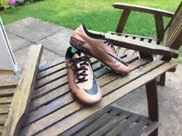 Bronze Nike Hypervenom Size 6