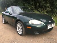 2001 Y MAZDA MX-5 1.8 2 DR CONVERTIBLE LOW MILEAGE 12 MONTH'S M.O.T HARDTOP