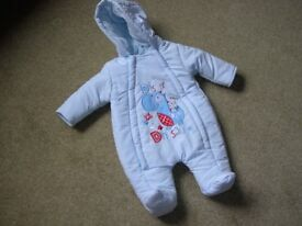 Snowsuits and jackets