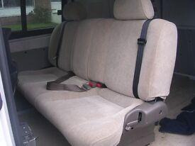 rear van seats