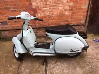 VESPA PX 125 *GREAT PRICE, SPORTS EXHAUST FITTED*