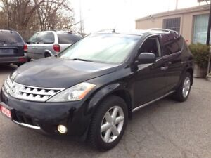 2006 Nissan Murano SE AWD LEATHER-ROOF-CAMERA