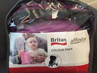 Britax affinity colour packs, brand new
