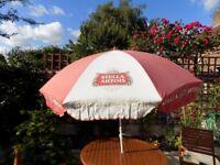 vintage stella artoir sunshade umbrella