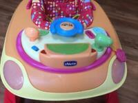 "Chicco ""car"" baby walker"