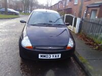 Ford ka low mileage, ideal first car