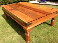 Lovely Old Pine Coffee Table